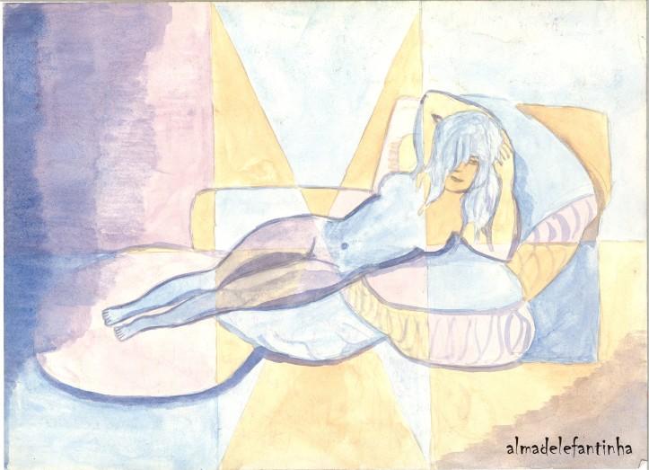 La maja desnuda-goya-reinterpretacion_almadelefantinha