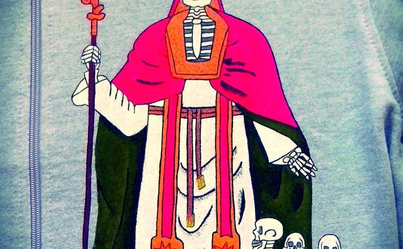 San Nicolás. Pintado amano