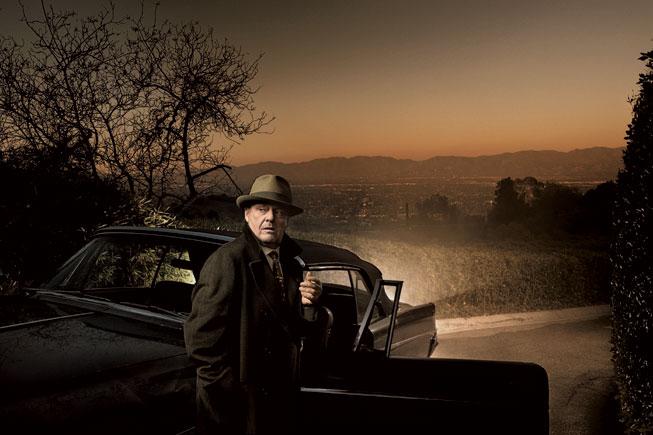 jack Nicholson, Mulholland Drive, Los Angeles 2006 annie leibovitz