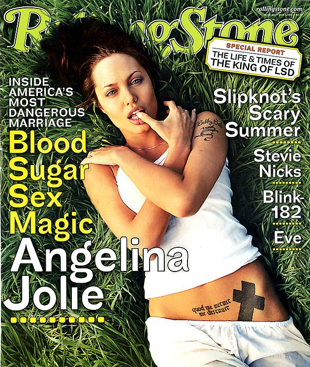 1. rolling stone cover david lachapelle - 2001