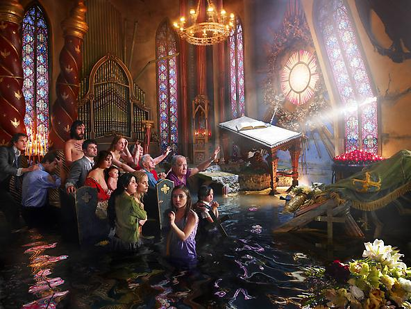 after the deluge - cathedral david lachapelle 2007