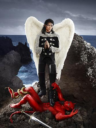 archangel michael and no message could have been any clearer - the beatification david lachapelle 2009