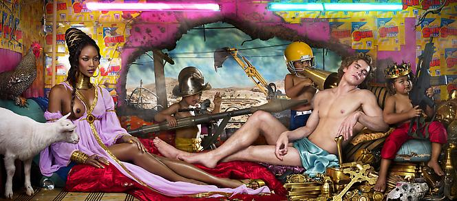rape of africa 2009 david lachapelle