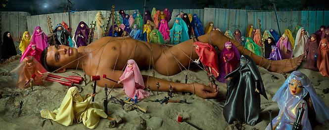 WOULD-BE MARTYR AND 72 VIRGINS 2008 david lachapelle
