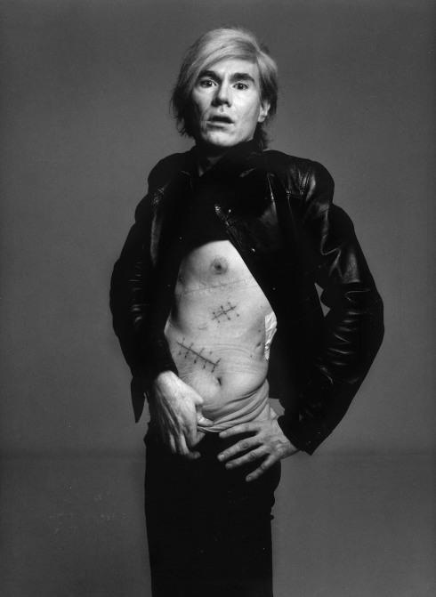 Andy Warhol, New York, August 20, 1969, Murals and Portraits richard avedon