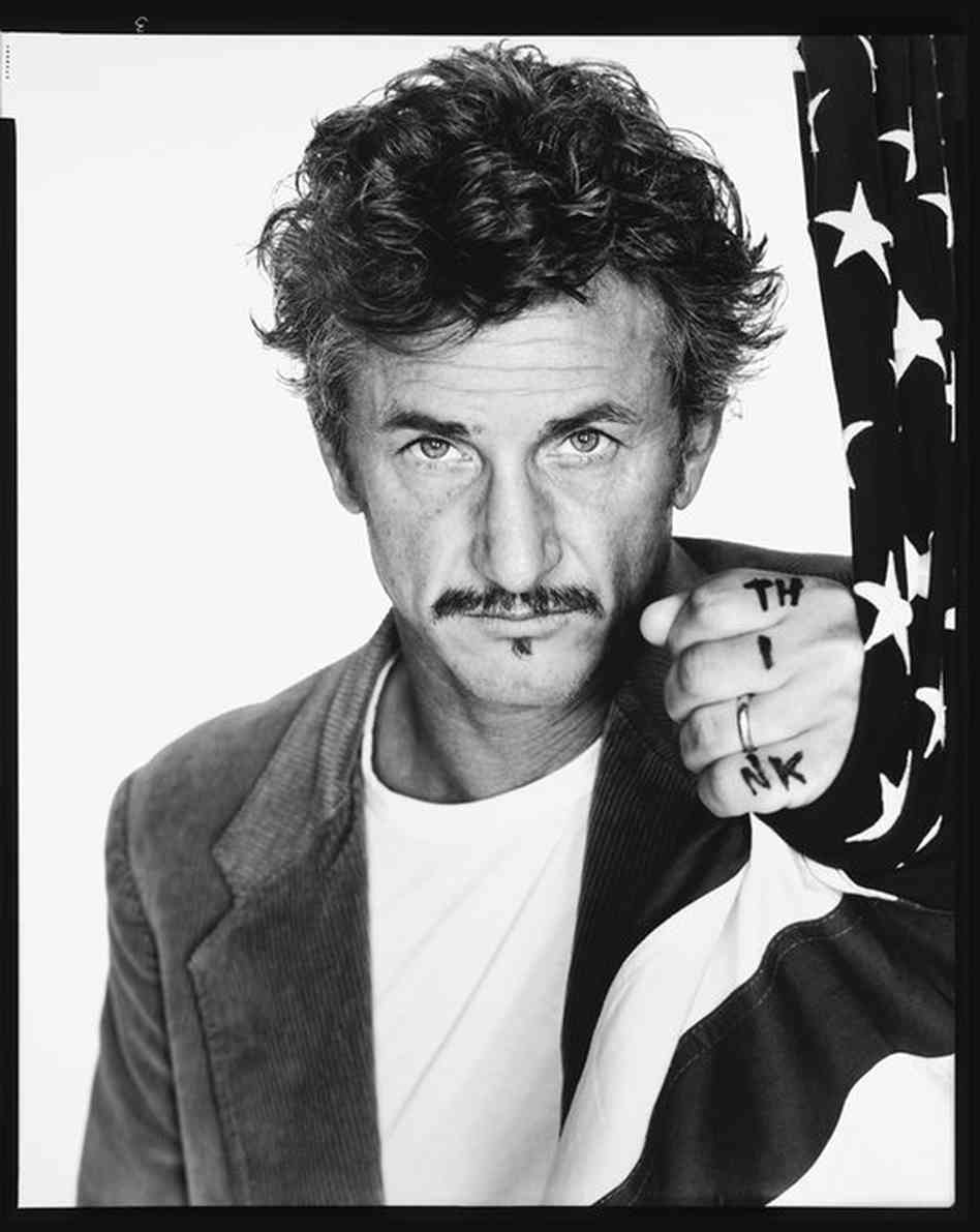 sean penn, san francisco. richard avedon