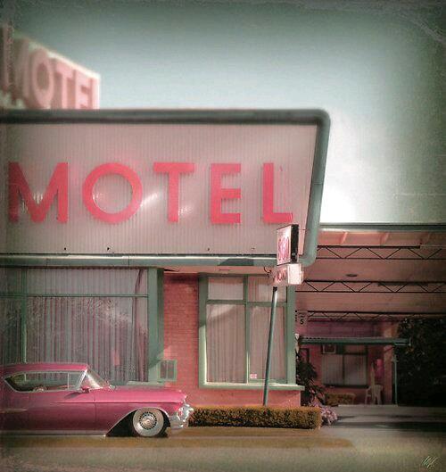 American Vintage Motel #american #vintage #motel