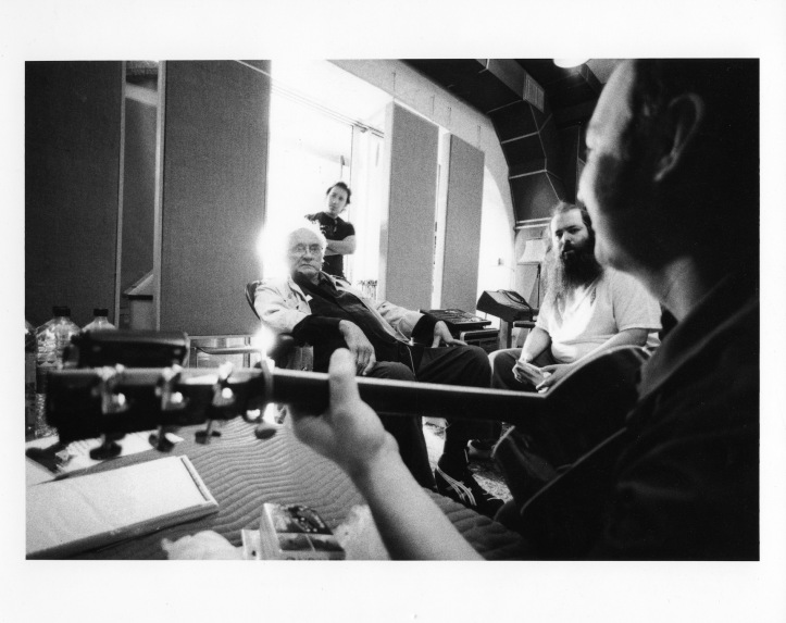 JOHNNY CASH RICK RUBIN STUDIO