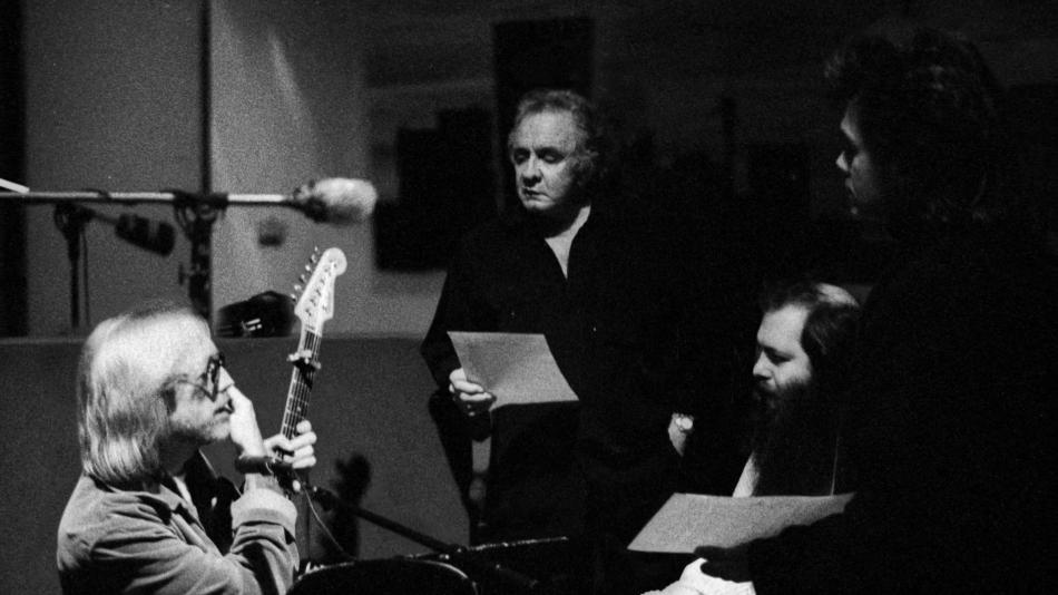 Johnny Cash, Tom Petty and Rick Rubin [1996]