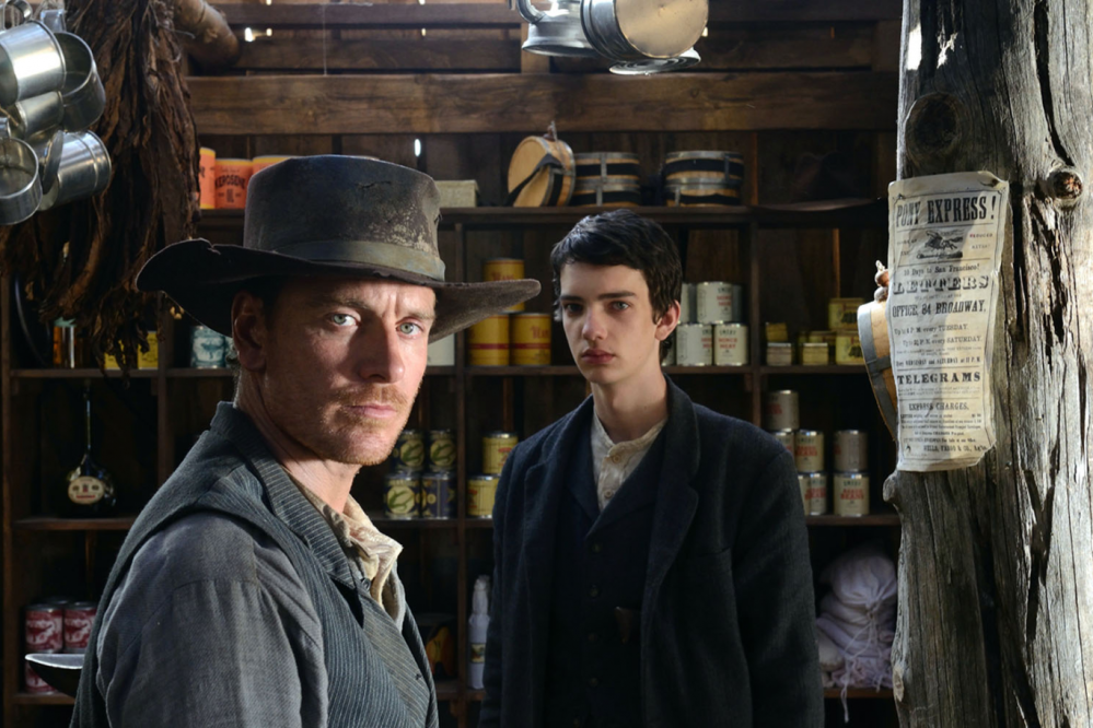 Slow West michael fassbender and Kodi Smit-McPhee