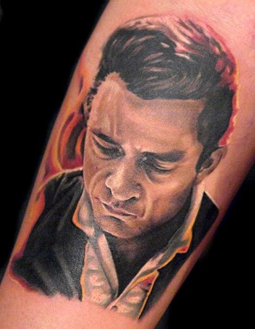 tattoo johnny cash 04