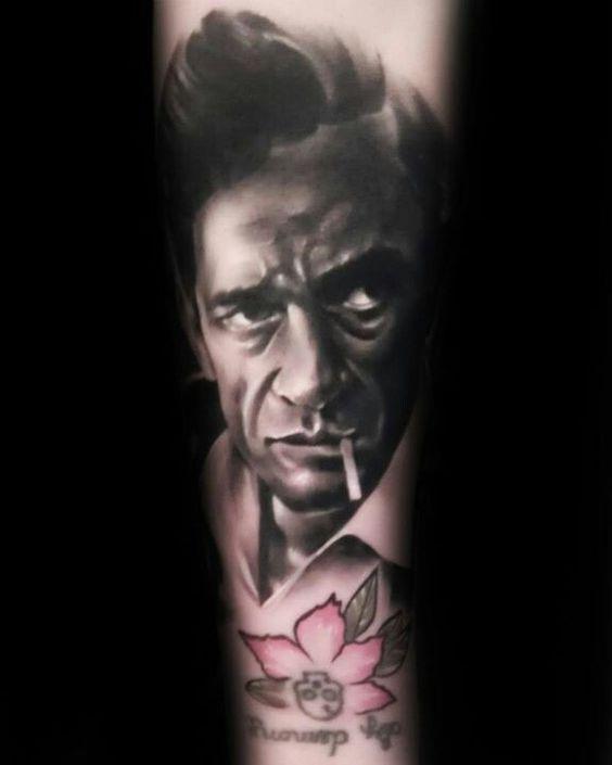 tattoo johnny cash 06