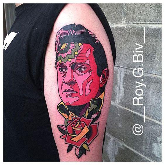 tattoo johnny cash 09