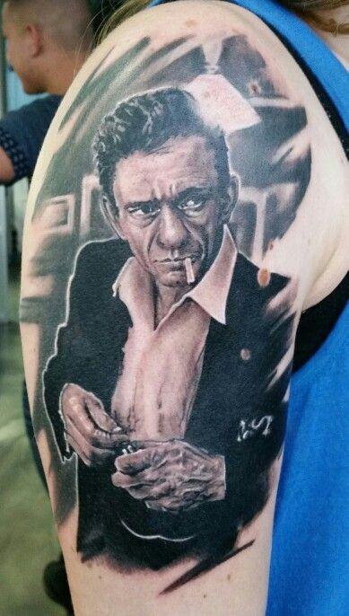 tattoo johnny cash 10