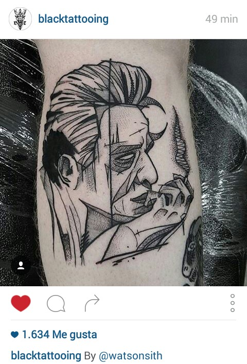 tattoo johnny cash