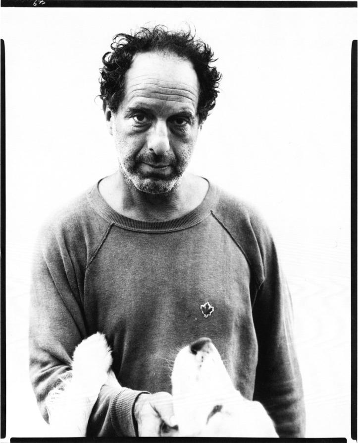 Robert Frank. (Retrato por Richard Avedon)