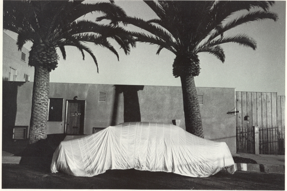 robert frank_Covered Car, Long Beach CA 1955-56