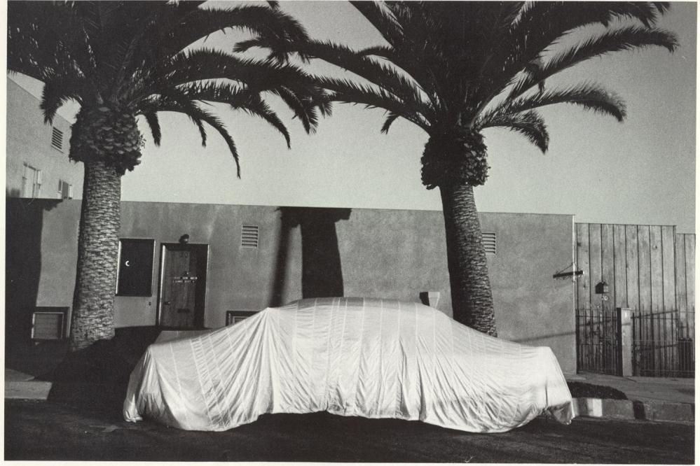 robert frank_Covered Car, Long Beach CA 1955-56