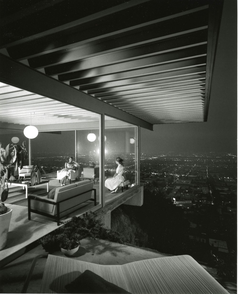 Stahl House - Case Study Houses / Pierre Koenig - 1960