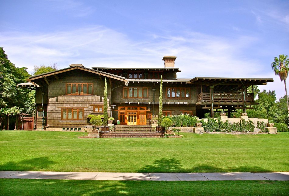 Gamble House - Greene 1908