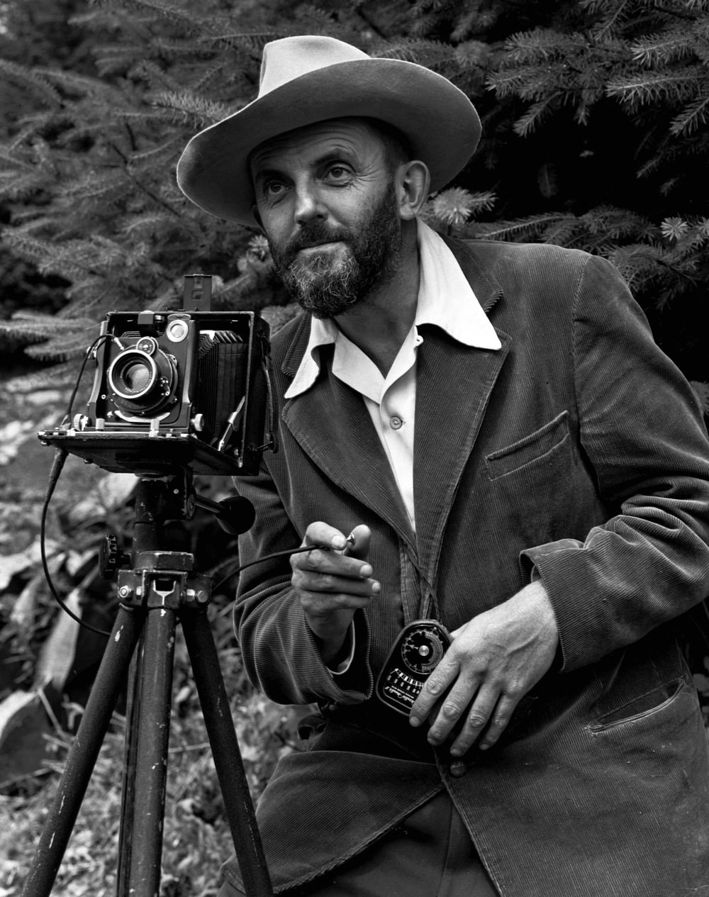 ansel-adams-and-camera
