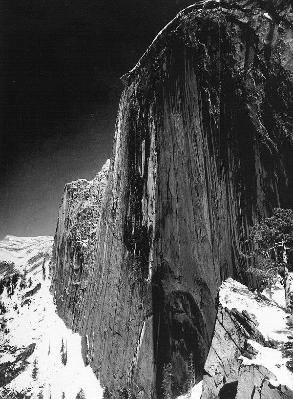 ansel-adams-monolith-face-of-half-dome-yosemite-national-park-1927