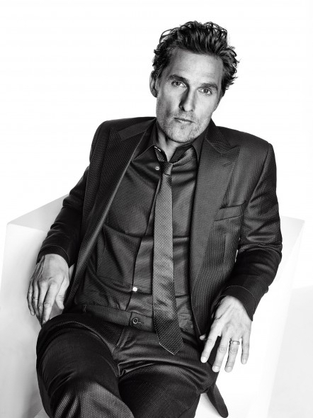Matthew McConaughey, photographed by Eric Ray Davidson for L'Optimum, Dec-jan 2014, 2015.